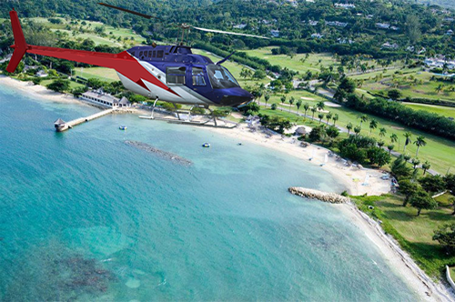 Read more about the article Sandals Whitehouse Helicopter Transfer from Montego Bay Airport