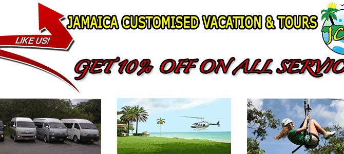 Jamaica Customised  Vacation, Transportation and Tours