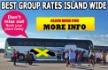45 Seats Bus Hireage from Montego Bay.