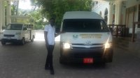 14 Seats Bus Hireage from Montego Bay.