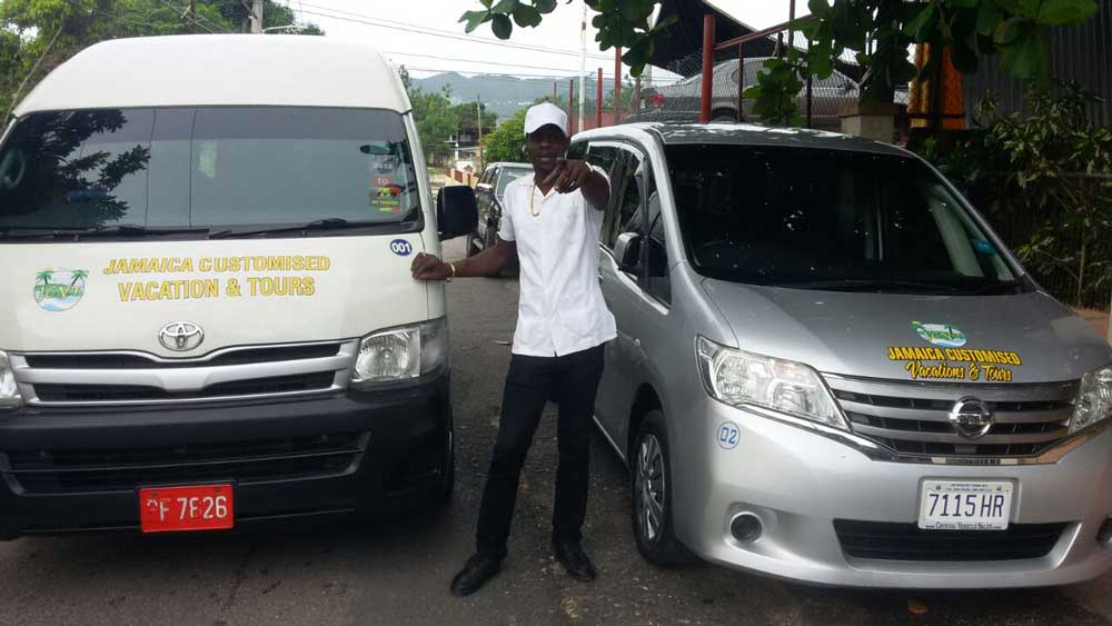 Sandy Heaven Taxi from Montego Bay Airport