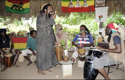 Rastafarian Indigenous Village Tour from Royalton Rose Hall