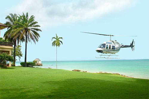 Helicopter Flights from Montego Bay to Ocho Rios and Boscobel