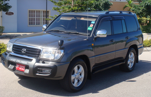 Royalton White Sands SUV Transfer