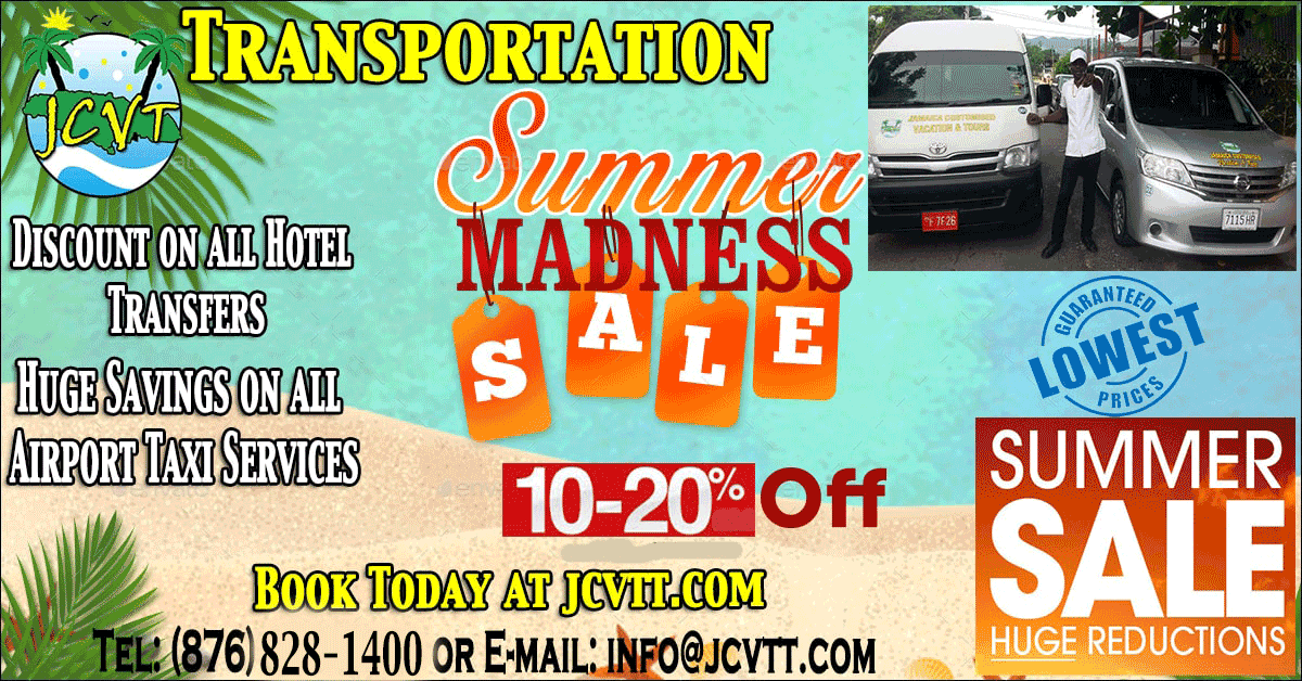Jamaica Taxi Transportation Shuttle Sale.jpg