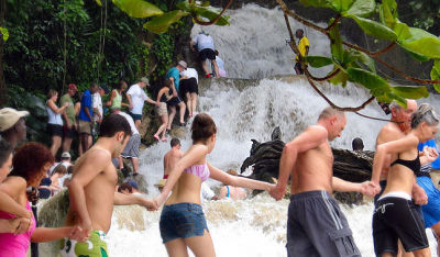 Catamaran Cruise with Dunn's River Falls Tour