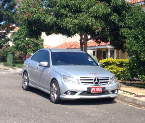 Mercedes Benz Hire to Sandals South Coast