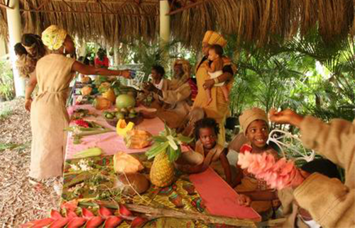 Rastafarian Indigenous Village Tour from Grand Palladium Resort.
