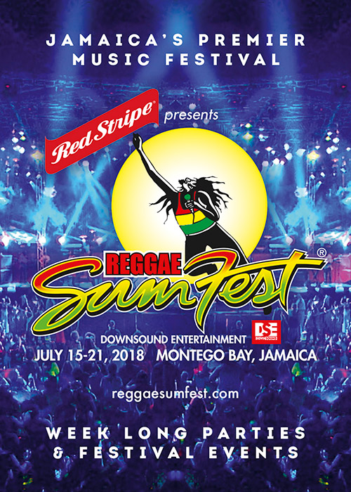 Reggae Sumfest Shuttle from Grand Palladium Resort.
