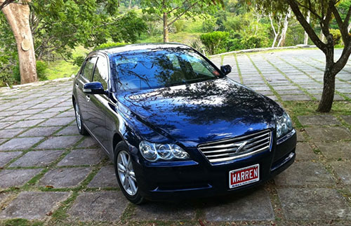 Luxury Sedan Car Transfer: Negril from Montego Bay Airport