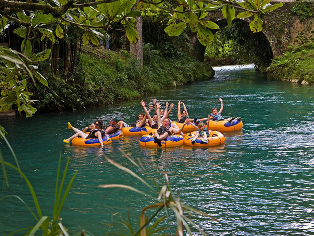 River Tubing and Zip Line Canopy Tour for Grand Palladium Resort
